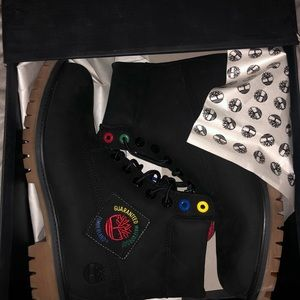 Brand new timberlands boots
